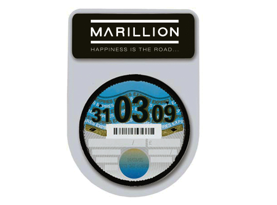 MARILLION CAR TAX DISC HOLDER
