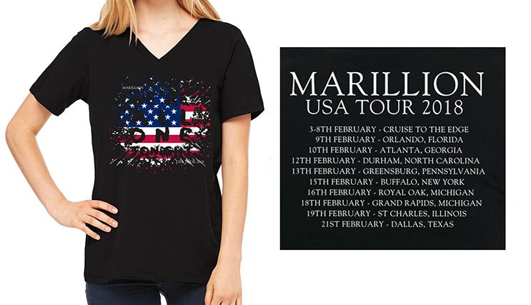 US TOUR 2018 TSHIRT