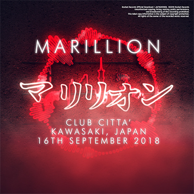 JAPANESE TOUR 2018 CLUB CITTA', KAWASAKI, JAPAN - 16TH SEPTEMBER 2018