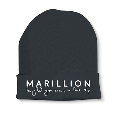 MARILLION LOGO KNITTED HAT EMBROIDERED