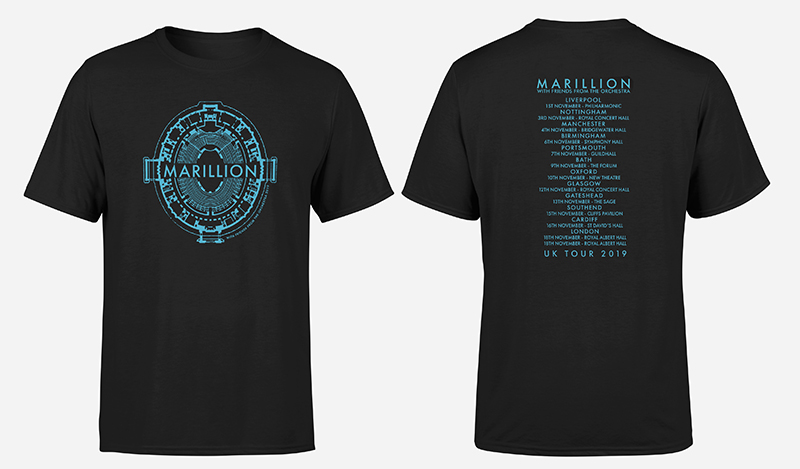 FRIENDS FROM THE ORCHESTRA TOUR UK 2019 MEN'S TSHIRT