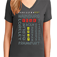 German Tour 2017 Ladies TShirt