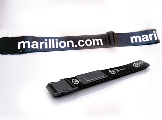 MARILLION.COM LUGGAGE STRAP POLYESTER / NYLON